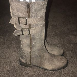 MATISSE ROADY rugged moto leather boot